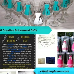 10 Creative Gifts for your Bridesmaids