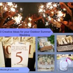 10 Creative Ideas for your Outdoor Summer Wedding