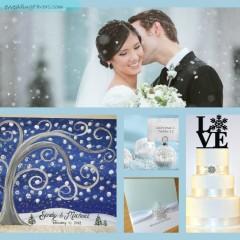 10 Winter Themed Wedding Ideas